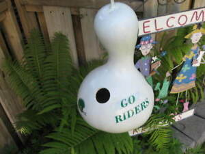 RIDER / BIRD HOUSES - ( Made from GOURDS )