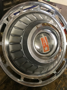 Wanted 1962 Beaumont Acadian hub caps