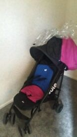 Joie Pink/Blue Reversible Stroller