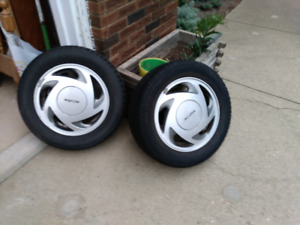 4 Used Honda/Acura Tires & Rims P195/60/R14