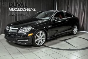 2013 Mercedes-Benz C-Class C350 Coupe 4MATIC + VRAI CUIR / GPS