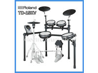 Roland TD-15KV with VH-11 hihat electronic V Drums kit & pedal FULL MESH - Plus VEX pack upgrade