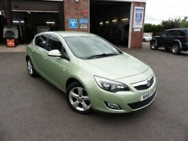 Vauxhall Astra i VVT 16v SRi 5dr (green) 2011