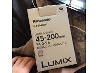 PANASONIC 45-200 MM CAMERA LENSE