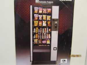 COLD DRINKS, SNACKS VENDING MACHINE ROUTE FOR SALE