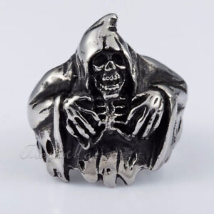 Grim Reaper Ring Size 10