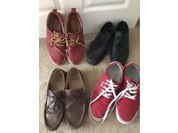 Size 9 shoes for sale. All are In Good Condition