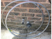 MAVIC MA2 & SHIMANO RX100 HUBS ROAD BIKE WHEELS WHEEL SET
