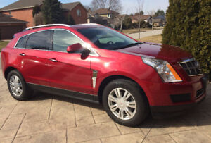 2012 Cadillac SRX - Crimson Red - All Wheel Drive   AS IS