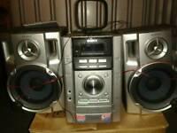 Multi CD stereo system