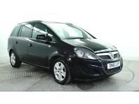 2011 Vauxhall Zafira EXCLUSIV Petrol black Manual