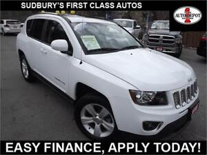 2016 Jeep Compass 4X4!! SUNROOF!! HEATED LEATHER SEATS!!