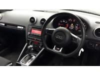 2009 Audi A3 2.0 TDI Black Edition 2dr S Tr Automatic Diesel Cabriolet