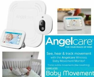 NEW ANGELCARE WIRELESS BABY MOVEMENT MONITOR SYSTEM