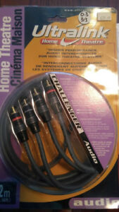 ULTRALINK CHALLENGER 2 METER COMPONENT VIDEO CABLE