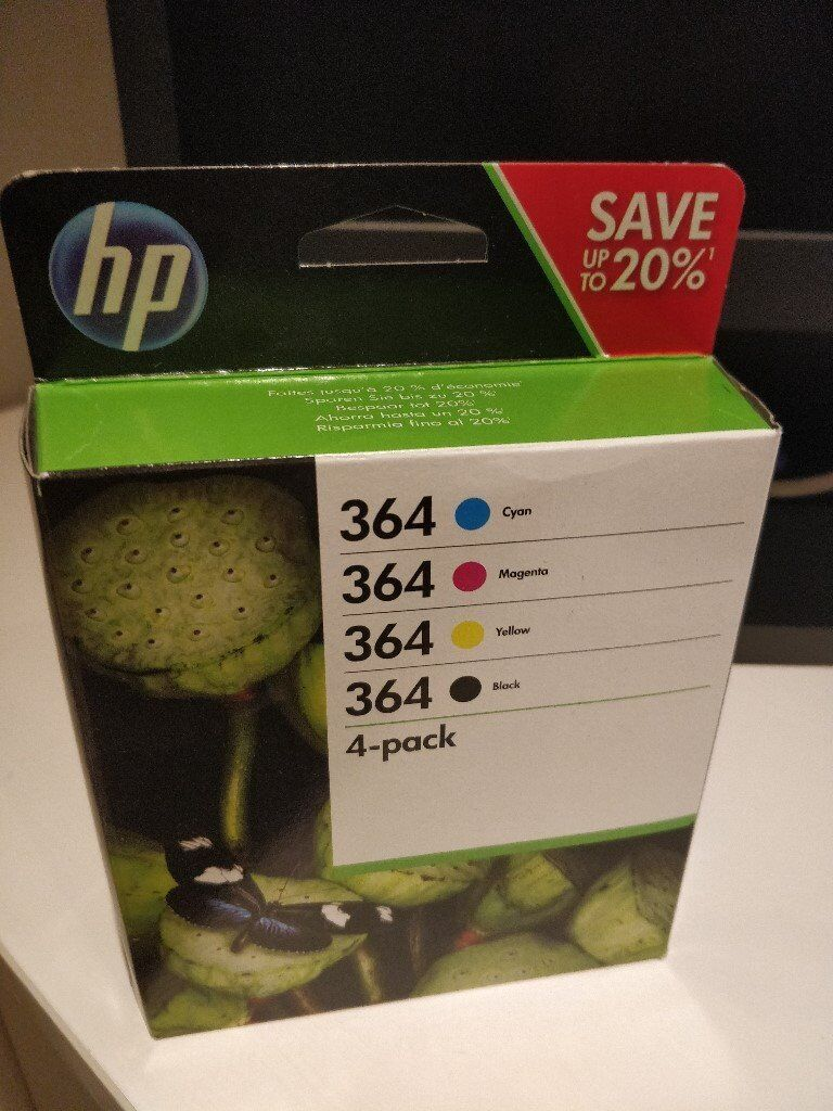 HP 364 4-Pack of Inks