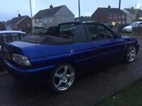 Coming up classic escort convertible 1.8 si