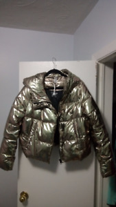 NEW Gold jacket insulated