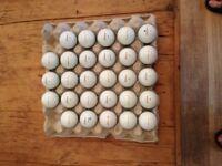 TITLEIST PRO V1 / V1X Golf Balls