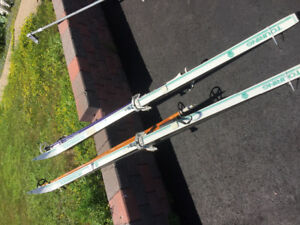 Cross Country Skis and Poles for Sale