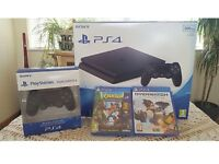 PlayStation 4 500gb with TWO Games and TWO Controllers