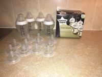 Tommee Tippee Closure to Nature bottles and teats