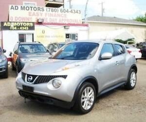 """ NO ACCIDENT "" 2012 NISSAN JUKE SL SUNROOF AUTO 100% FINANCING"