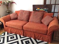 FREE 4 seater sofa washable covers 8ftx3ft