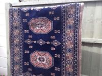 Nice blue and gold Persian style rug