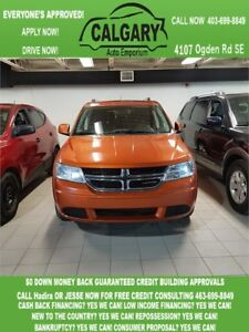 2011 Dodge Journey R/T  *$99 DOWN 2 PAYSTUB GURANTEED APPROVALS*