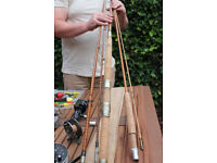 Fishing rods and equipment (floats, weights, tackle, etc)