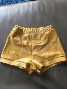 Girls size 6 gymnastics shorts