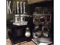 DUALIT Espresso Coffee Machine + Coffee Corner Accessories ++