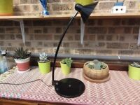 Stunning, Versatile Table / Desk Lamp - Very sturdy and multi positional - Ideal for Craft Worker !