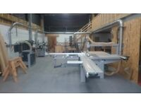 Workshop - shared woodworking workshop with all machinery and extraction, kitchen area and parking