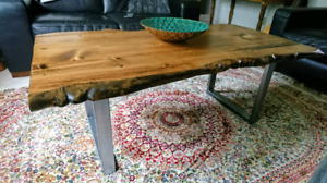 On Sale! Provincial Live Edge Coffee table