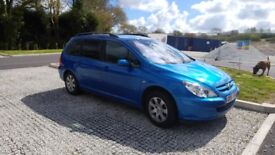 Peugeot 307 1.6 lots of history and recent work.