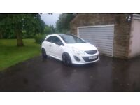 VAUXHALL CORSA LIMITED EDITION 62PLATE WHITE