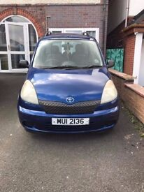 Toyota Yaris Verso GS Automatic GREAT RUNNER!! Must sell do to bought a 7 seater