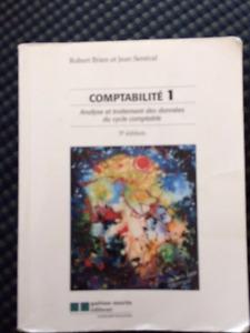 Comptabilité 1 5e édition - Robert Brien et Jean Senécal