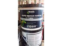 BOSTIK RAPID REPAIR MORTAR GLUE/ADHESIVE - 5kg TUB - For Levelling Steps/Pedestals/Holes