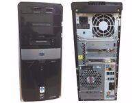 HP PAVILLION M9255UK DESKTOP PC WITH TV TUNER, HIGH SPEC PC