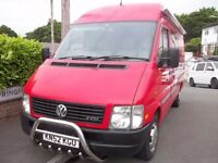 CAMPER/DAY VAN VW LT32, LOW MILES, MWB, HIGH TOP MOT UNTIL FEB, MUST BE SEEN!! THULE SIDE AWNING!