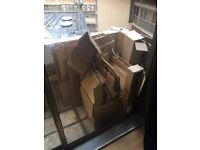 Various Size Thick Strong Cardboard boxes - perfect for moving