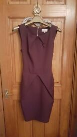 Purple Apricot Dress UK Size 12 Excellent condition