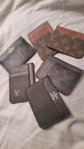 GUCCI AND LV LOUIS VUITTON CARD HOLDER WALLET PORTE FEUILLE