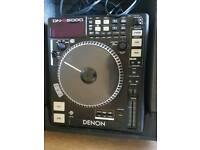 pair of Denon DN-S5000 CD MP3 DJ Decks
