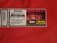 Reading Rock Festival Weekend Ticket