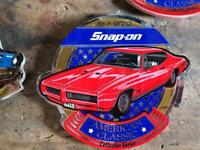 Snap On stickers. American classic