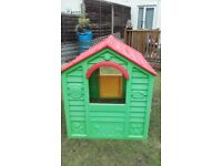 Keter playhouse for the garden